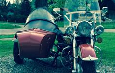 Harley-Davidson Side-Car Electra Glide - Early Shovel